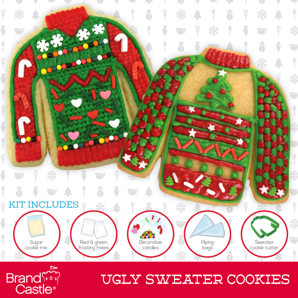Ugly Sweater Cookie Kit Crafty Cooking Kits