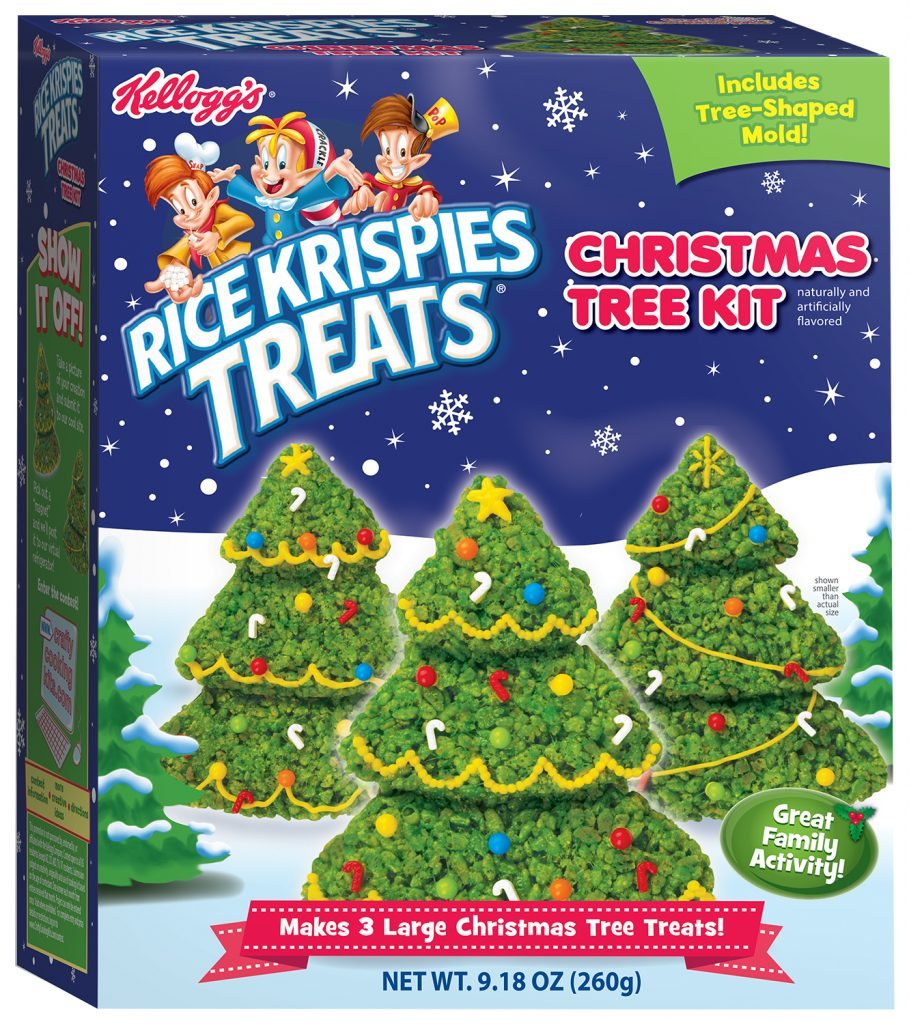Rice Krispie Treats Christmas Tree.Kellogg S Rice Krispies Treats Christmas Trees Kit