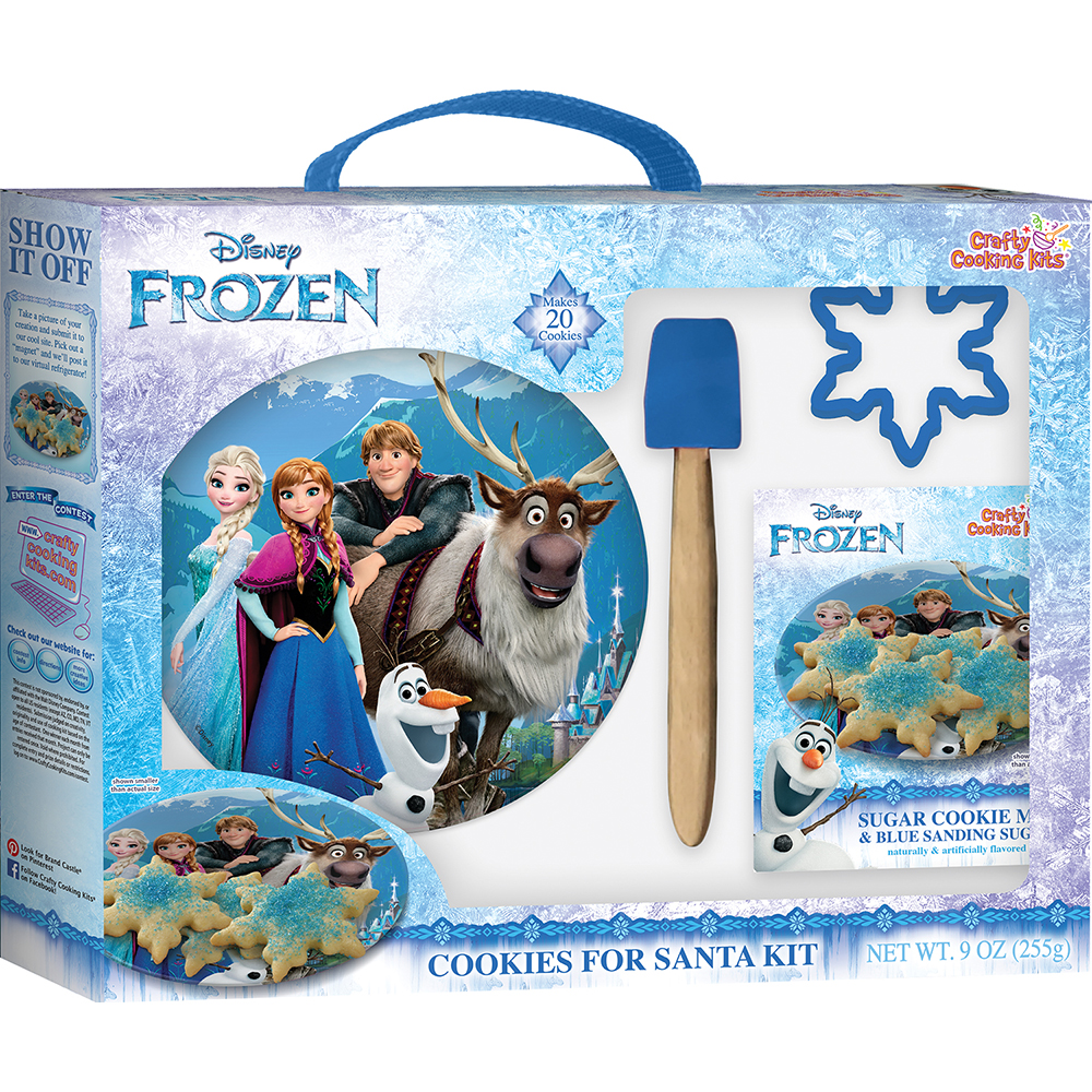 Disney 174 Frozen 174 Cookies For Santa Kit Crafty Cooking Kits