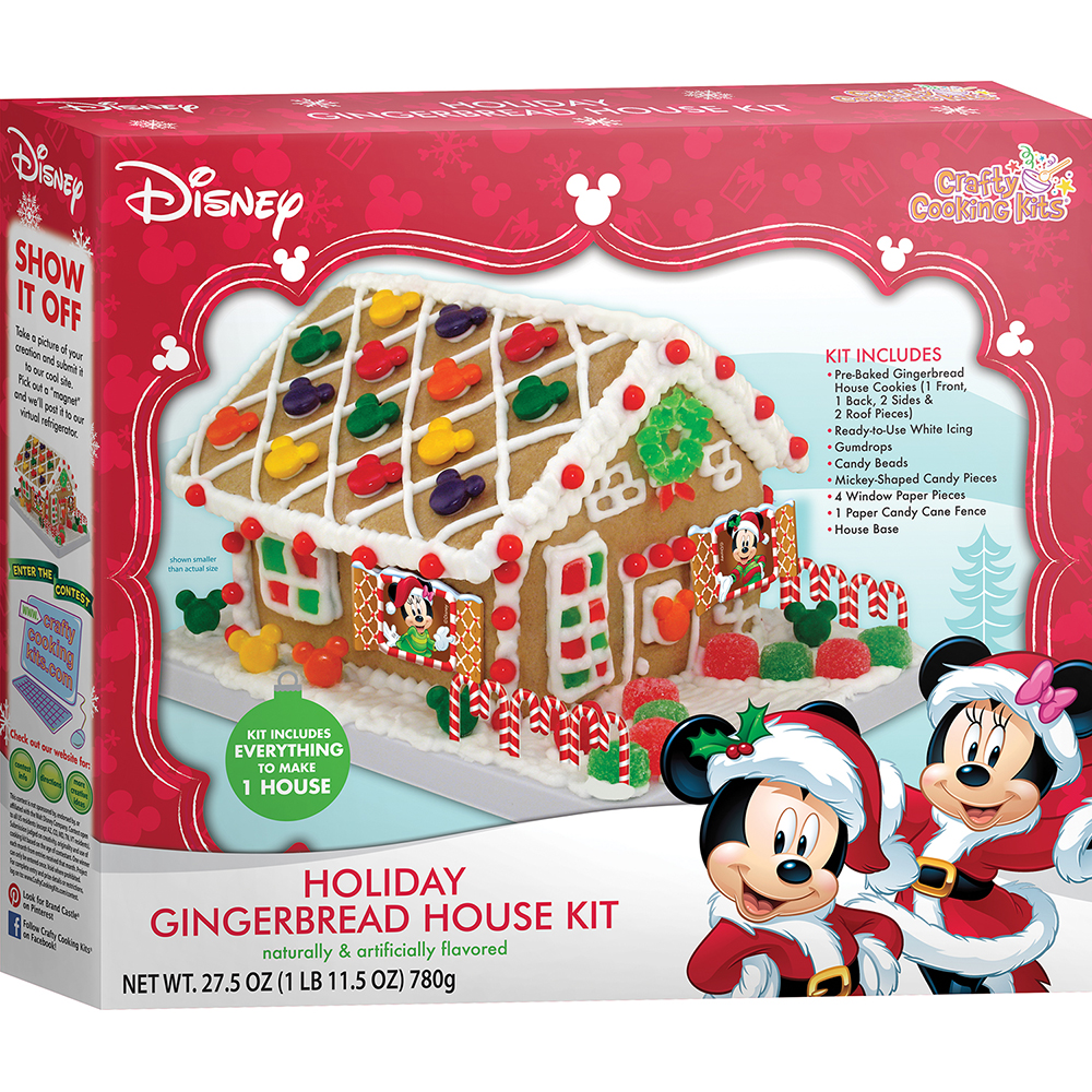 Disney Mickey Mouse Friends Holiday Gingerbread House Kit