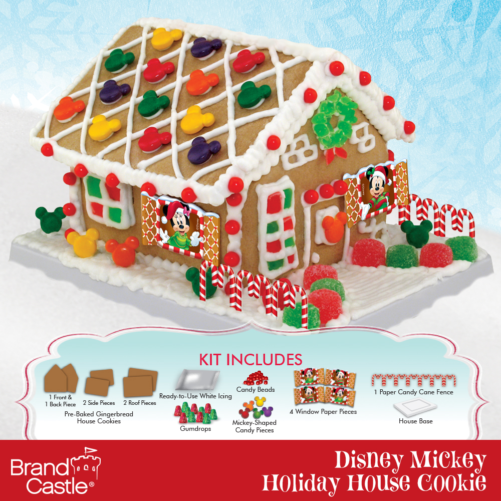 Disney® Mickey Mouse U0026 Friends Holiday Gingerbread House Kit